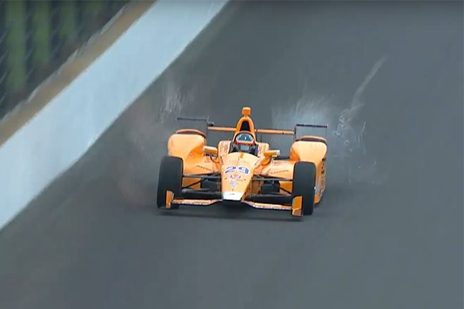 Fernando Alonso hits two birds with indycar