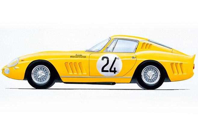 Ecurie Francorchamps Ferrari 275 GTB