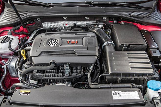 Volkswagen Golf GTI 7.5 TSI engine