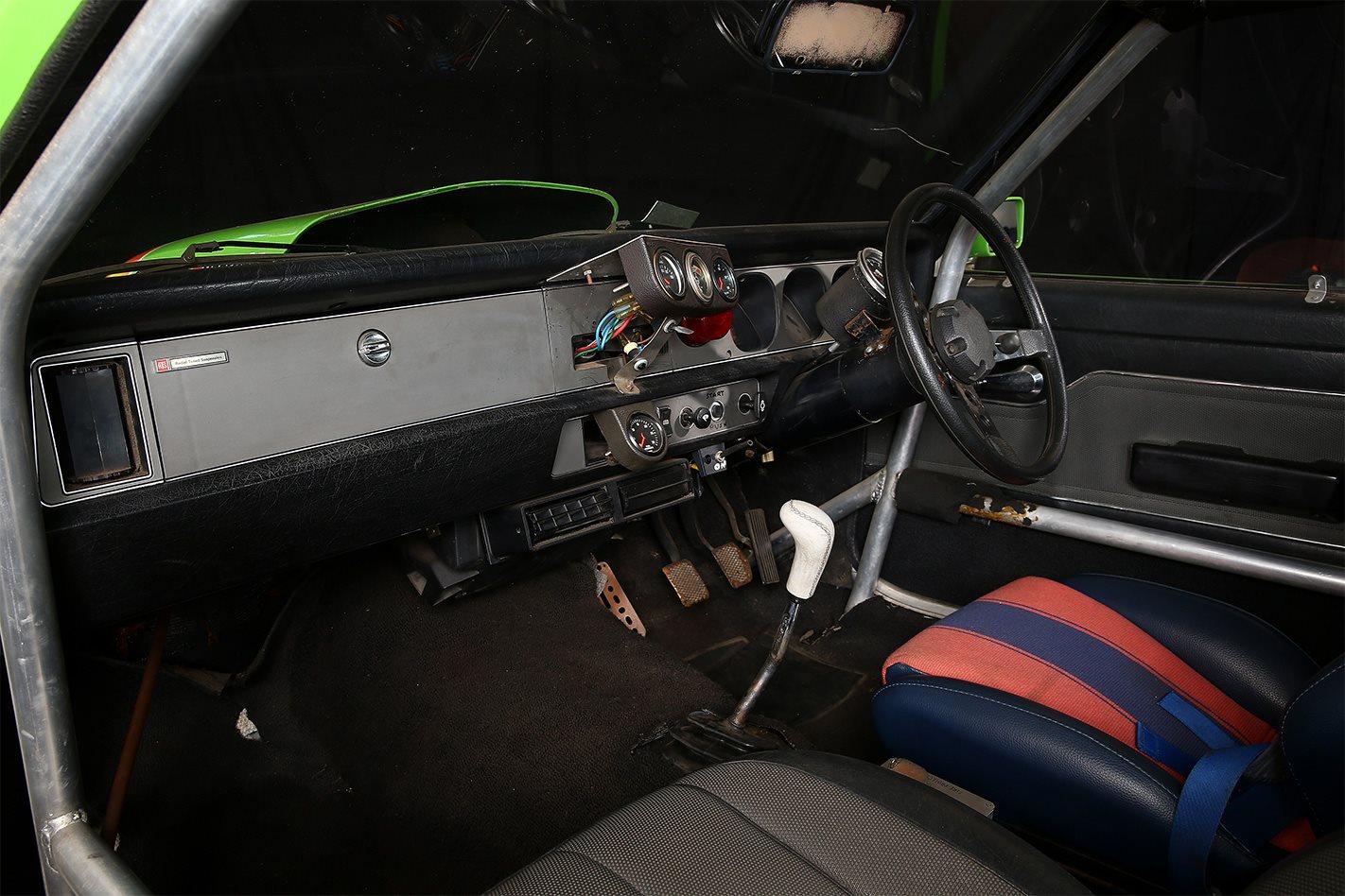 Bob Morris Holden Torana A9X interior