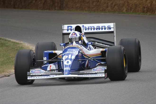 david coulthard in Williams FW16