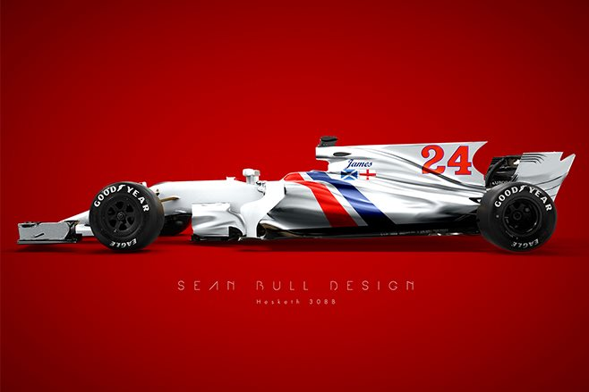 modern Hesketh livery