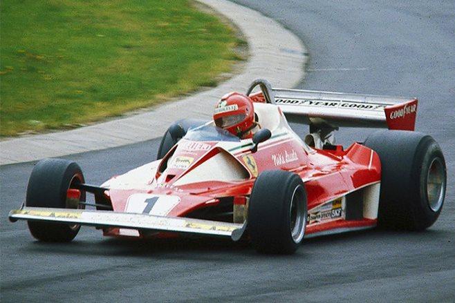 Niki Lauda Ferrari 312t
