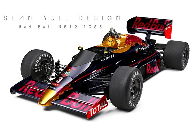 2016 Red Bull livery on Lotus 97T
