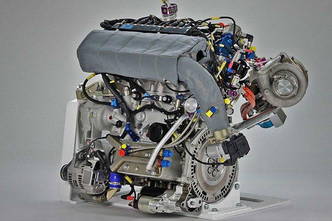 Anti lag turbo system engine