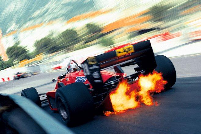 Anti lag turbo formula 1