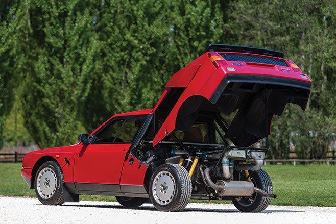 Lancia Delta S4 Stradale open