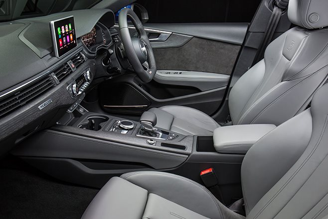 Audi S5 Sportback review interior