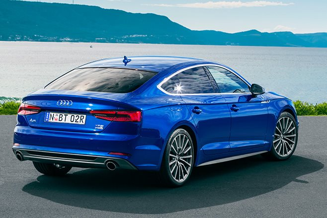 Audi S5 Sportback review rear