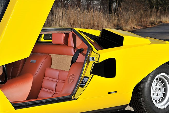 1975 Lamborghini Countach LP400 leather