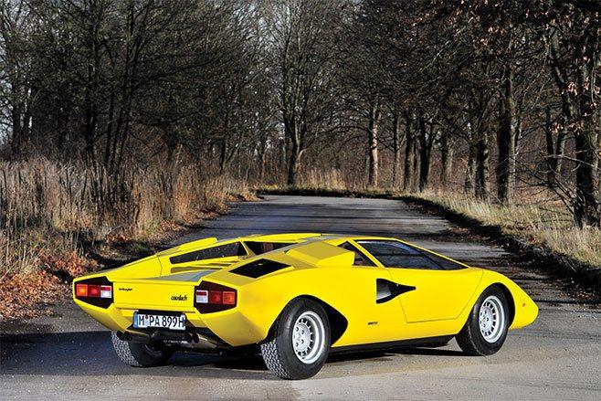 1975 Lamborghini Countach LP400 rear