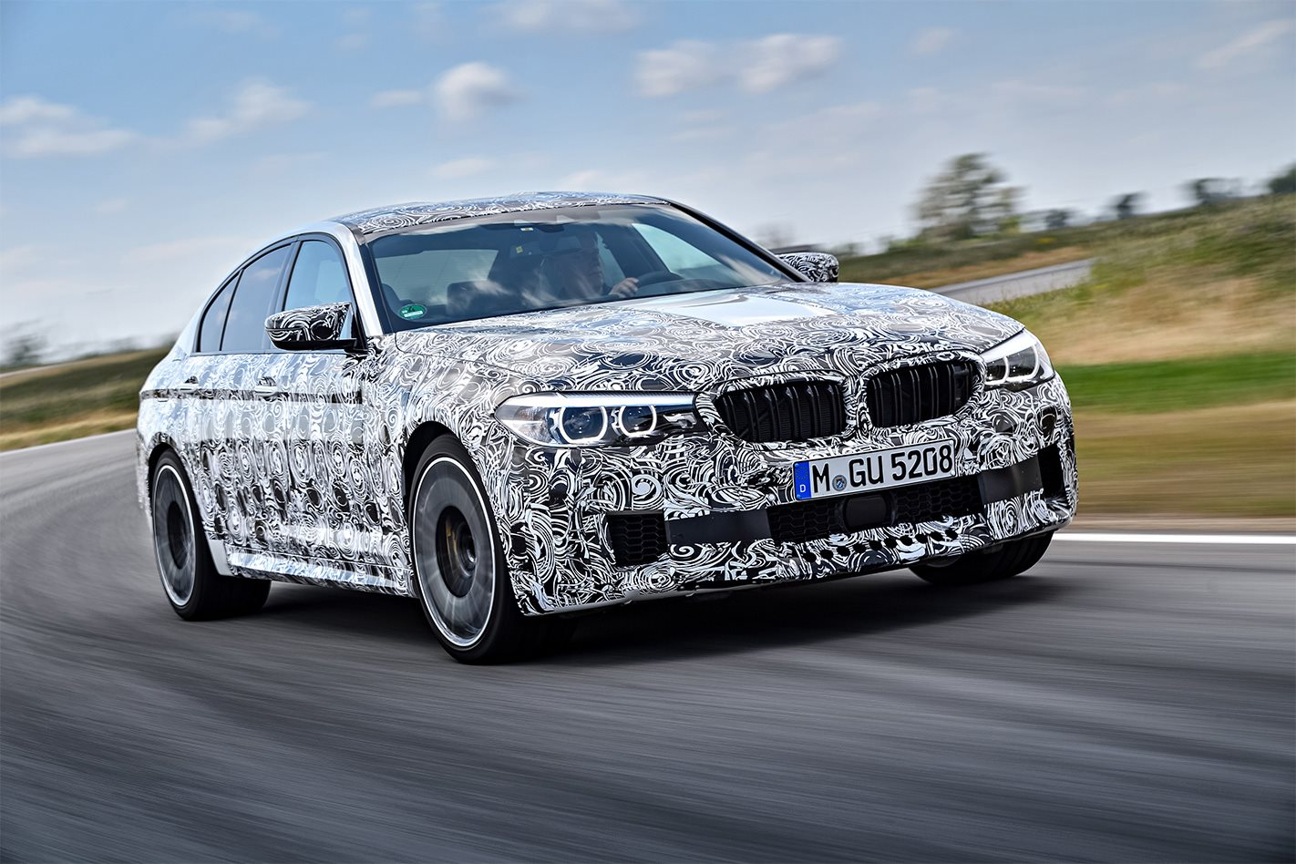 2018 Bmw M5 Scores Switchable Awd