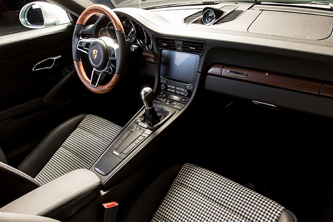 Millionth porsche 911 built interior