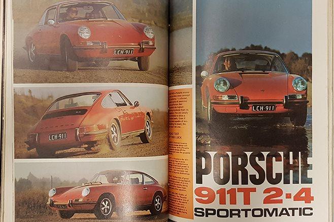 Modern Motor Magazine July 1972 Porsche 911T 2.4