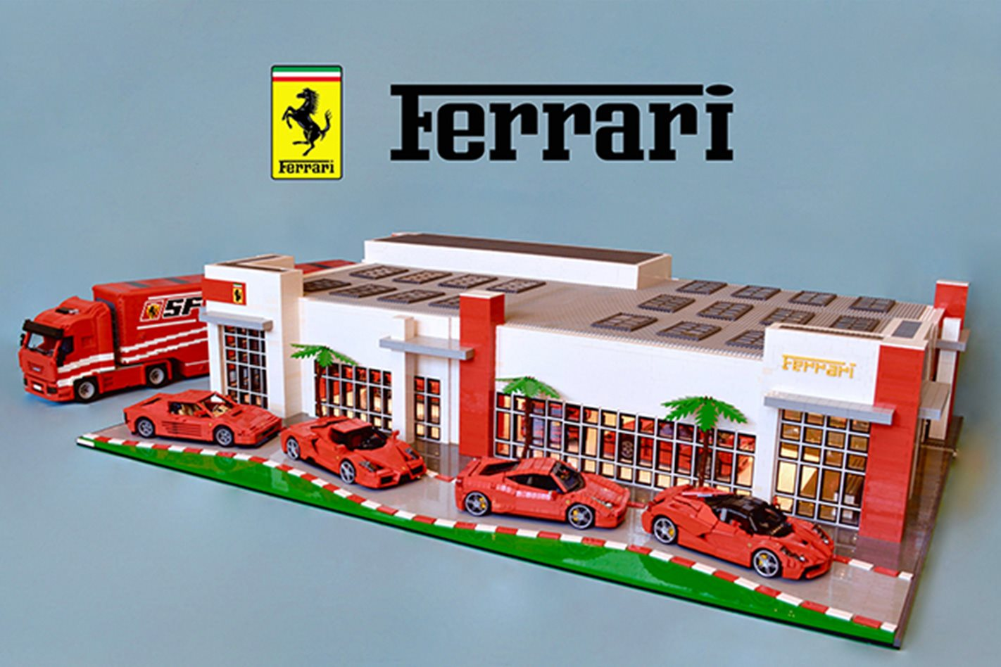 News 4 Tucson >> 36,000 piece Lego Ferrari dealership