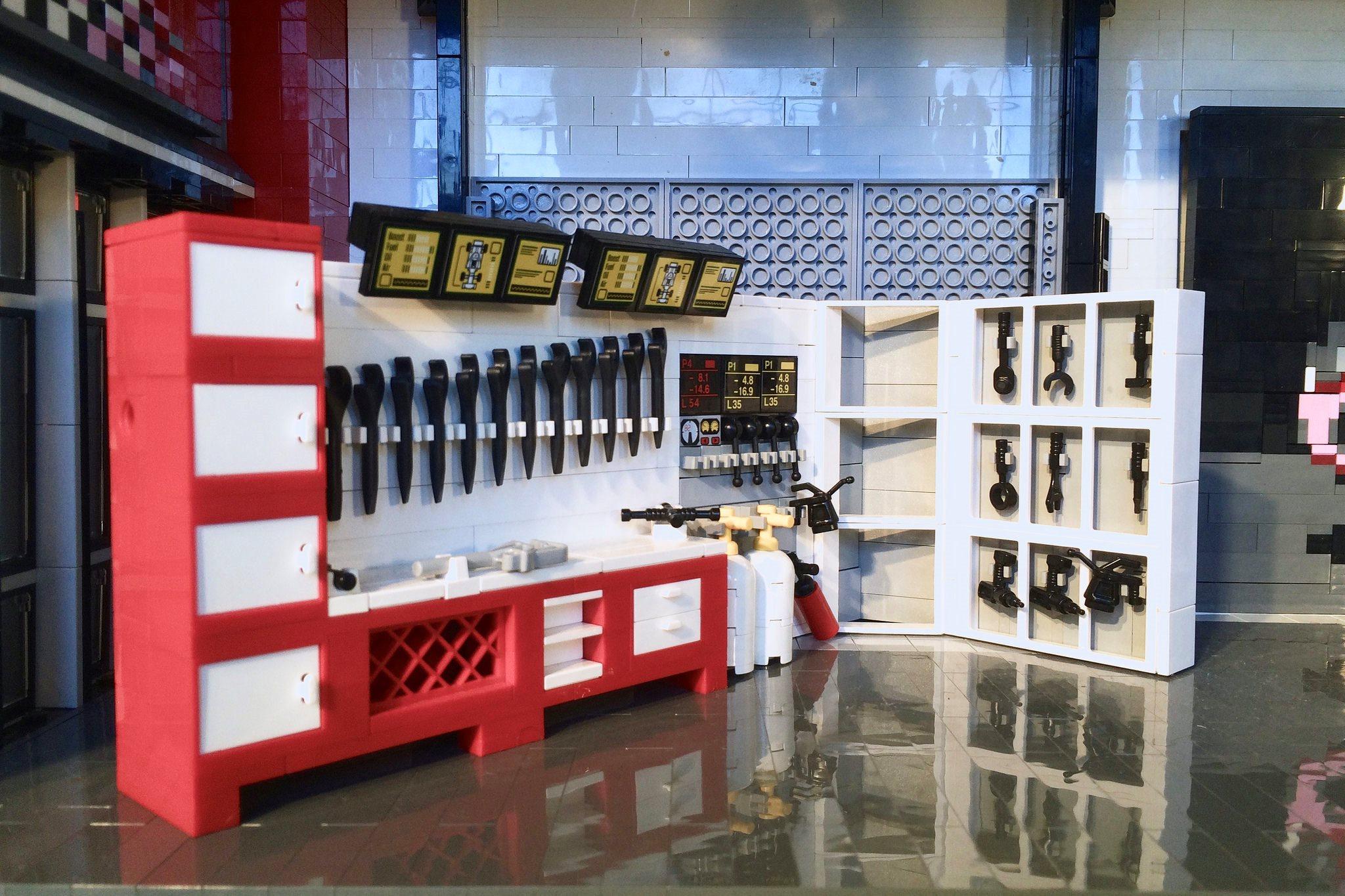 Lego Ferrari dealership options