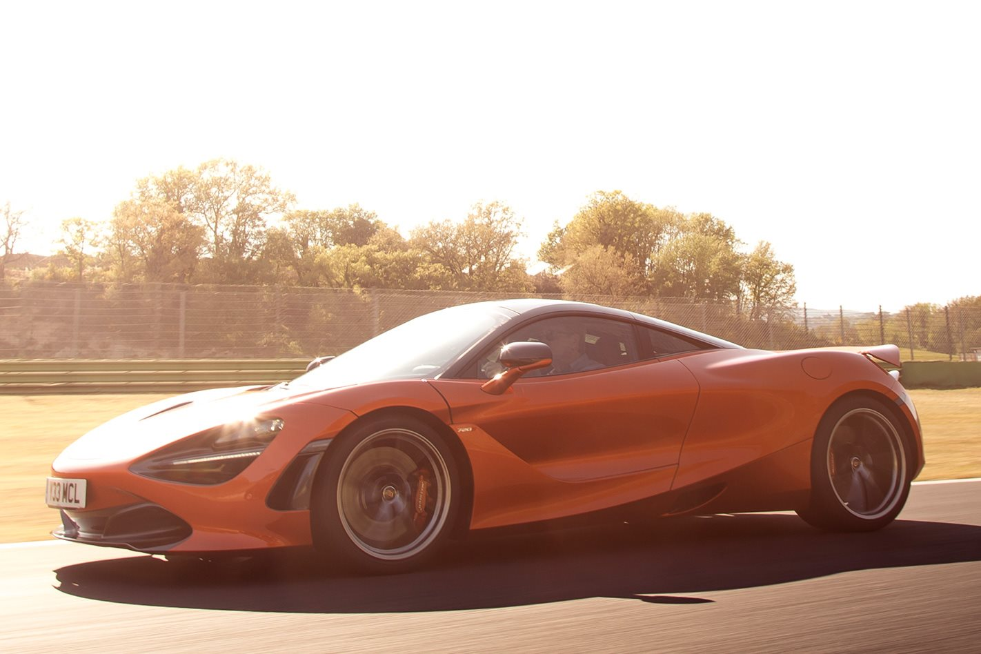 2017 McLaren 720S review racetrack