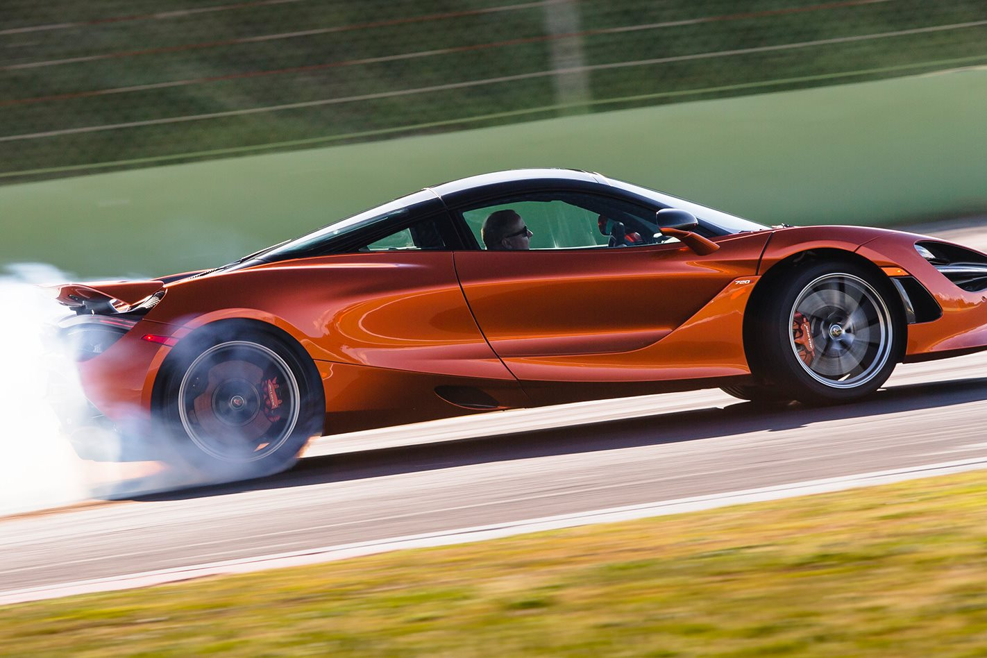 2017 McLaren 720S review side