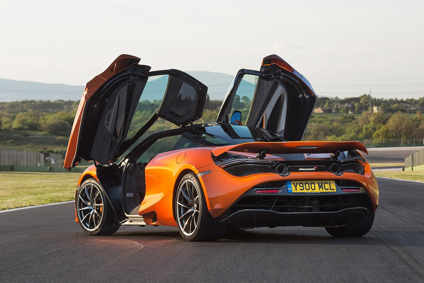 2017 McLaren 720S review suicide doors