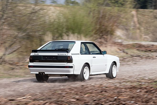 1985-homologation-Audi-Sport-quattro-driving-rear