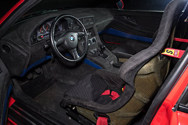 BMW M8 Prototype Interior
