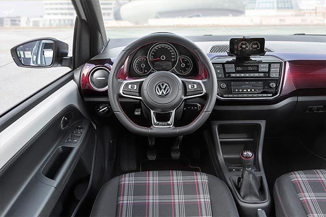 2018 Volkswagen Up Interior