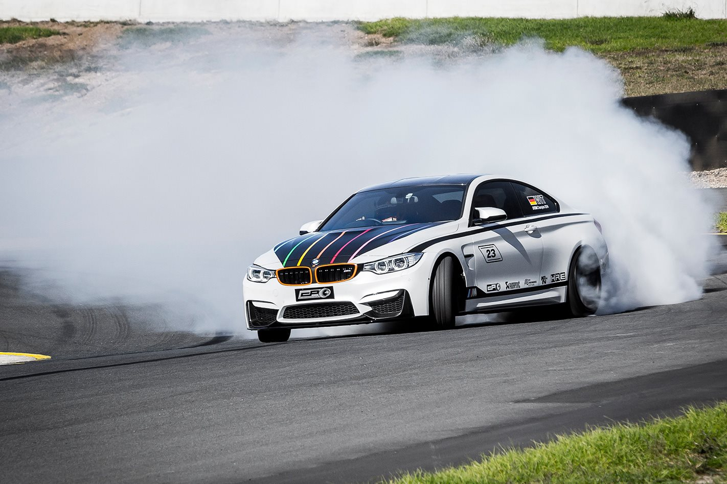 BMW M4 drift