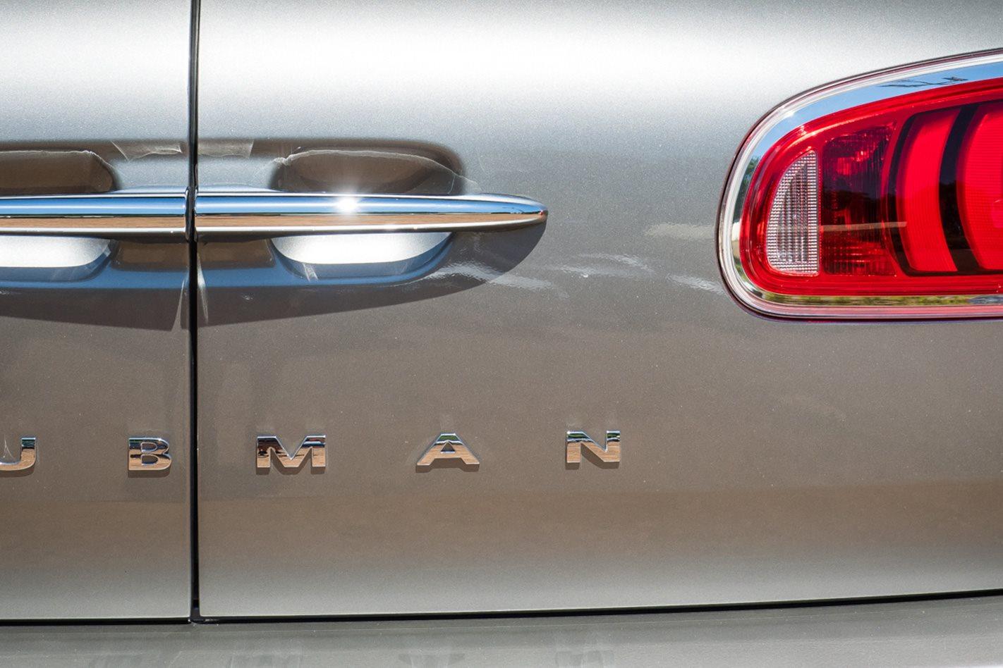 2017 Mini Clubman JCW rear doors