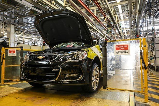 Last Aussie Chevrolet SS built