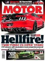 Motor magazine cover