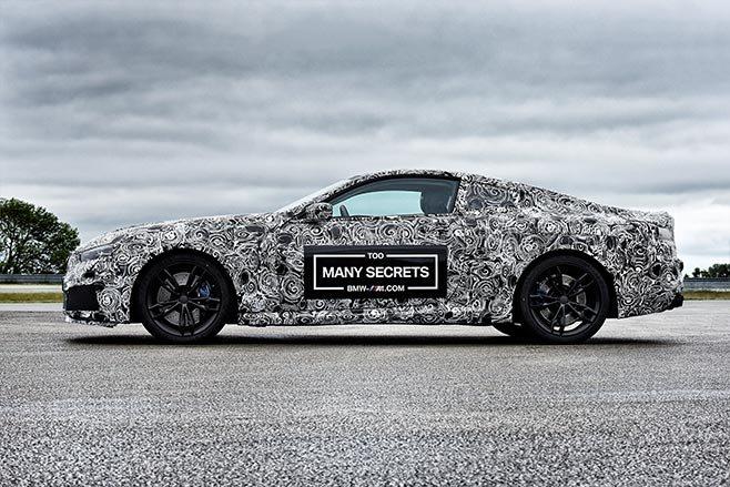 2018 BMW M8 prototype side
