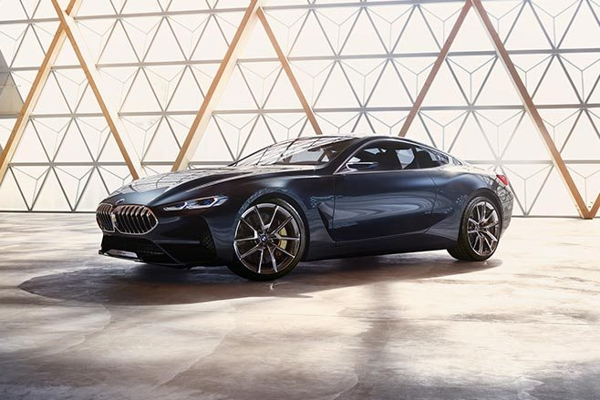 BMW 8 Series concept indoors