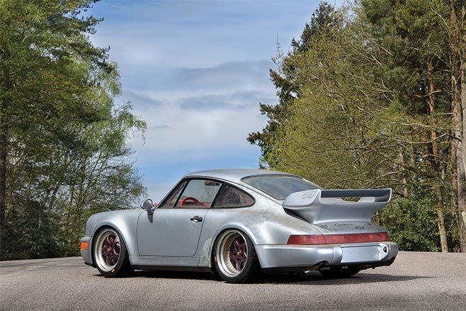 Barn find Porsche 964 Carrera RSR
