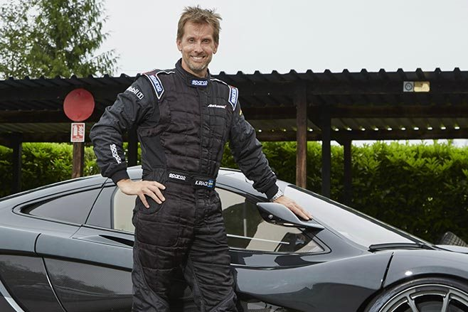 McLaren P1 LM Kenny Brack