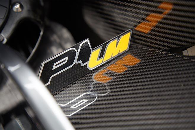 McLaren P1 LM badge
