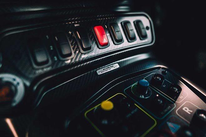 AMG GT3 Edition 50 Interior detail