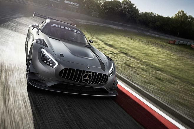 AMG GT3 Edition 50 driving front