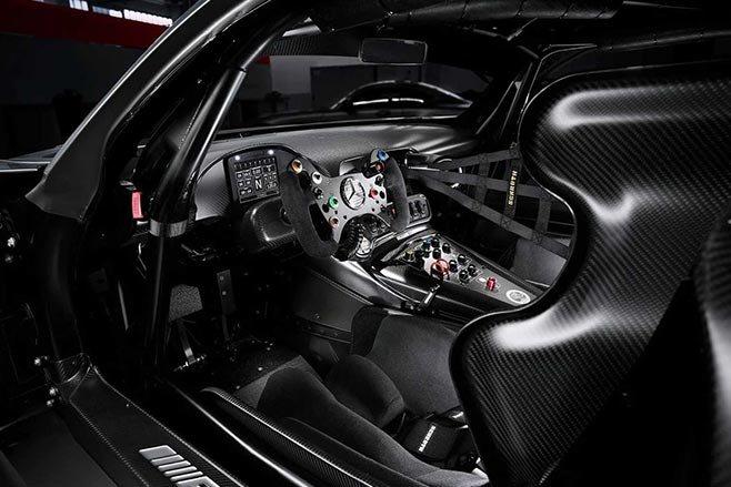 AMG GT3 Edition 50 interior