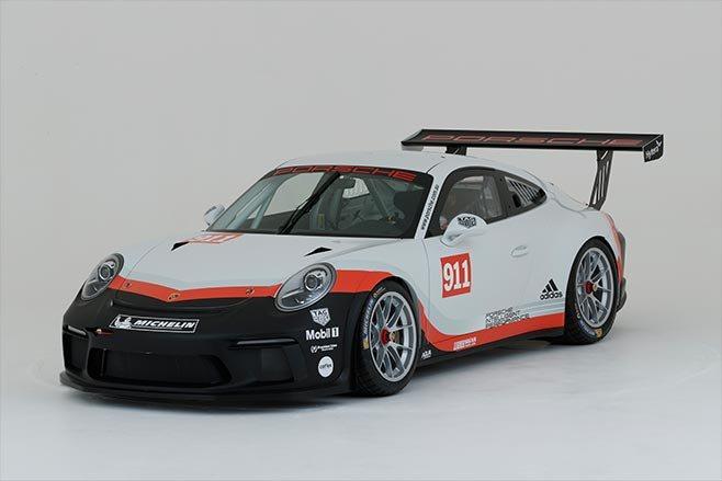 New Porsche GT3 car