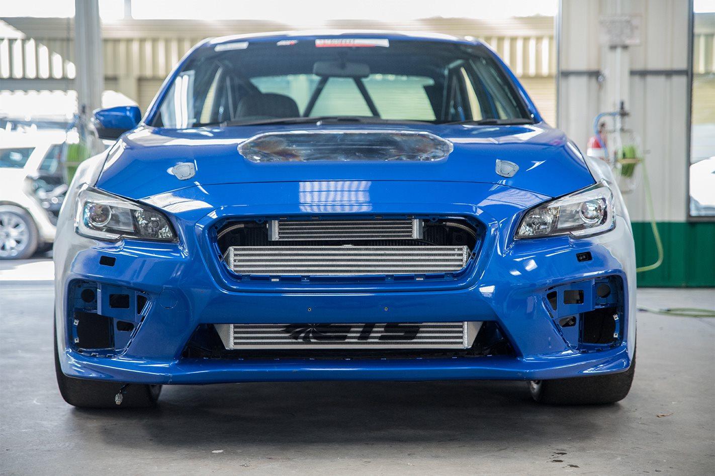 Willall Subaru WRX STI 25BB front