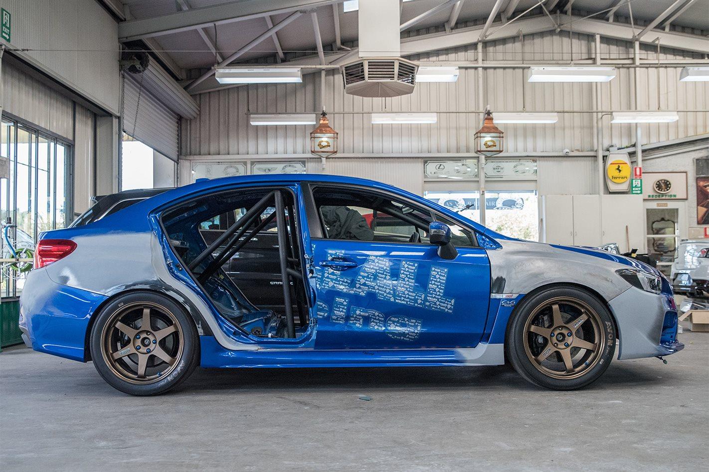 Willall Subaru WRX STI 25BB profile