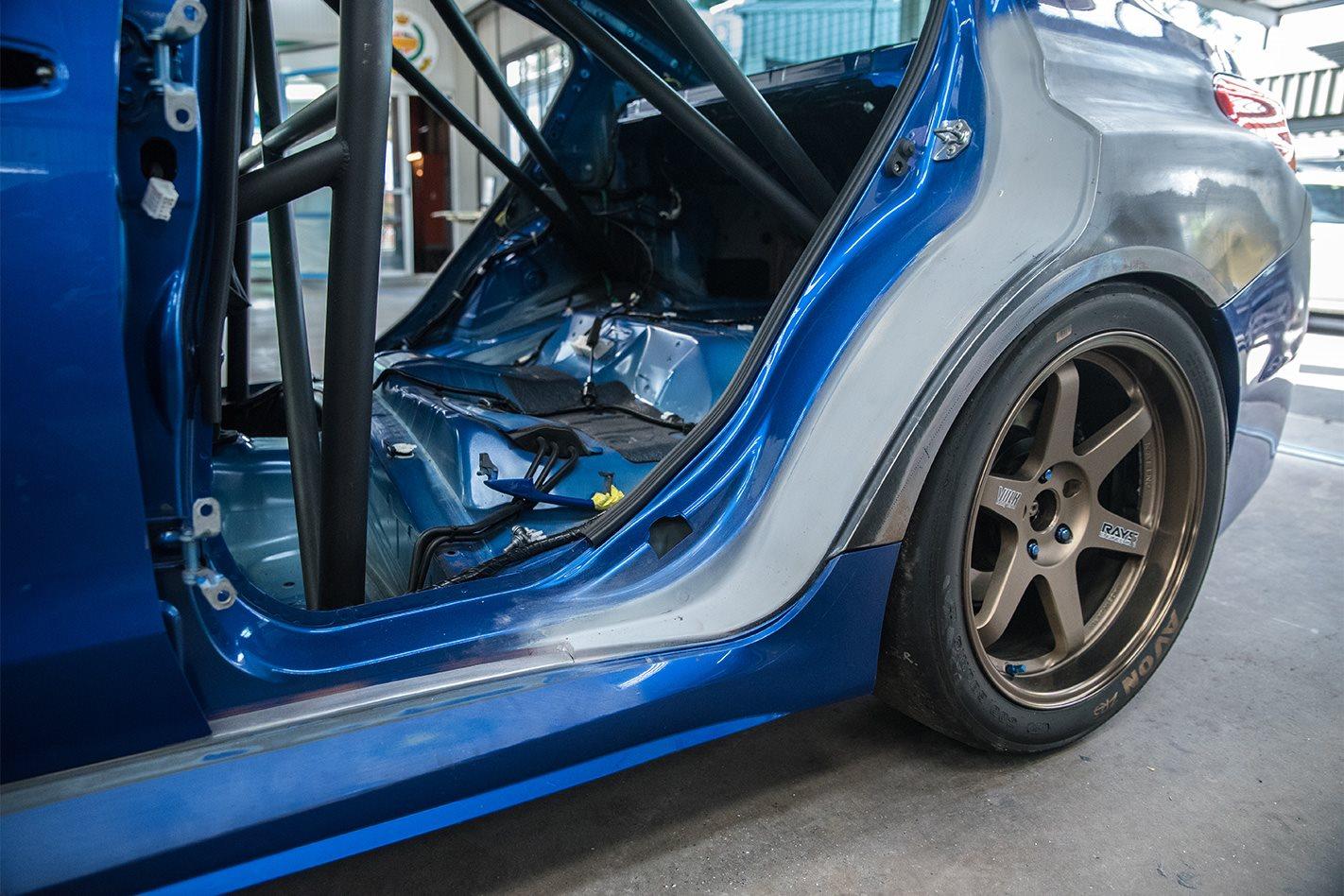 Willall Subaru WRX STI 25BB rear guard