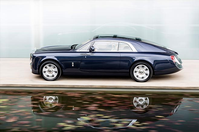 Rolls Royce Sweptail side