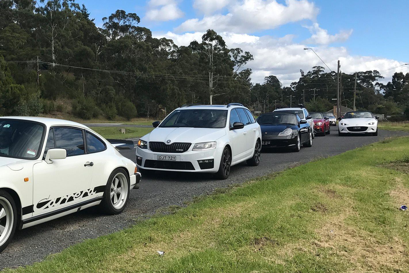 2017 Skoda Octavia RS230 convoy