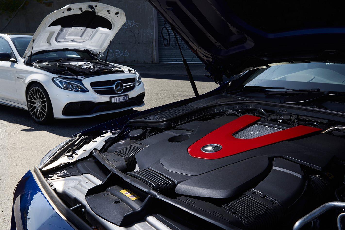 Mercedes AMG C43 Mercedes AMG C63 engine