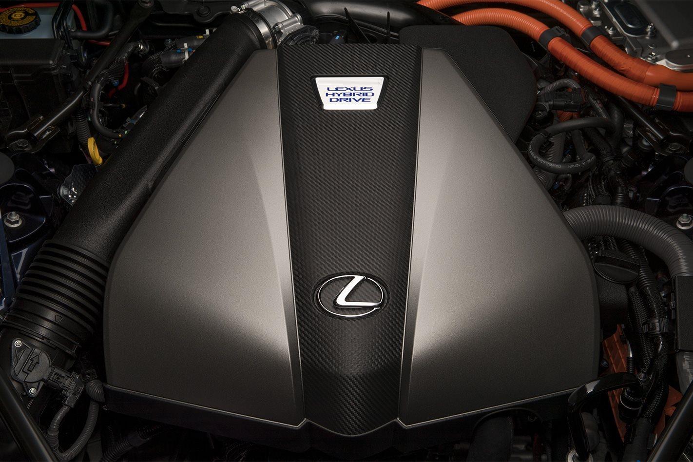 2018 Lexus LC 500 Hybrid engine