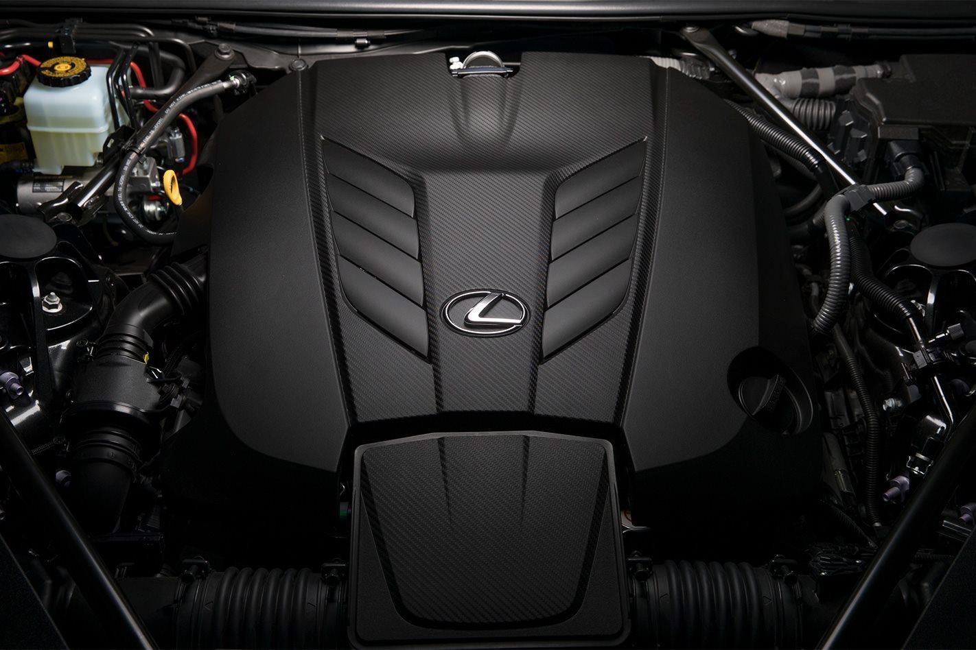 2018 Lexus LC 500 engine