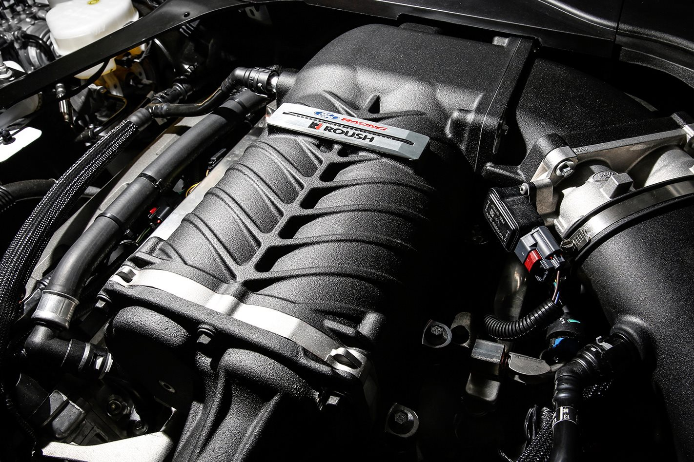 FPV Mustang engine