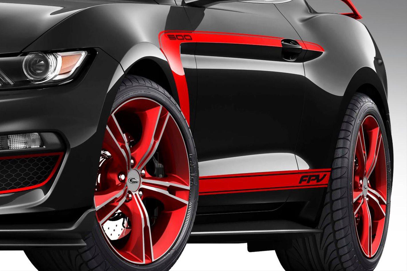FPV Mustang  wheels