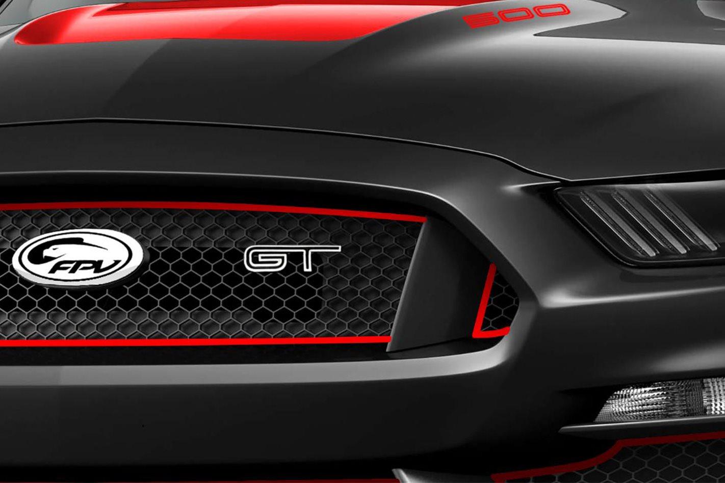 FPV Mustang badge